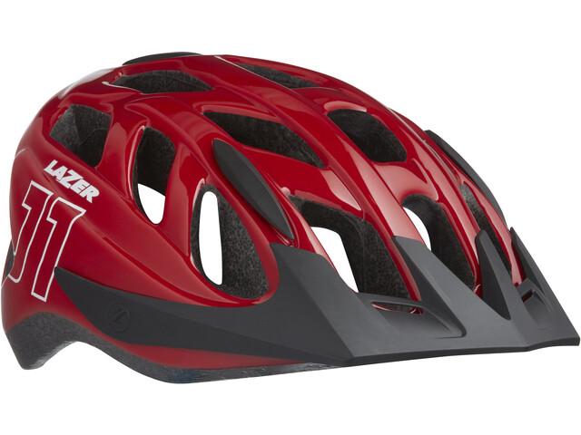 Lazer J1 Cykelhjelm Børn rød (2019) | Helmets